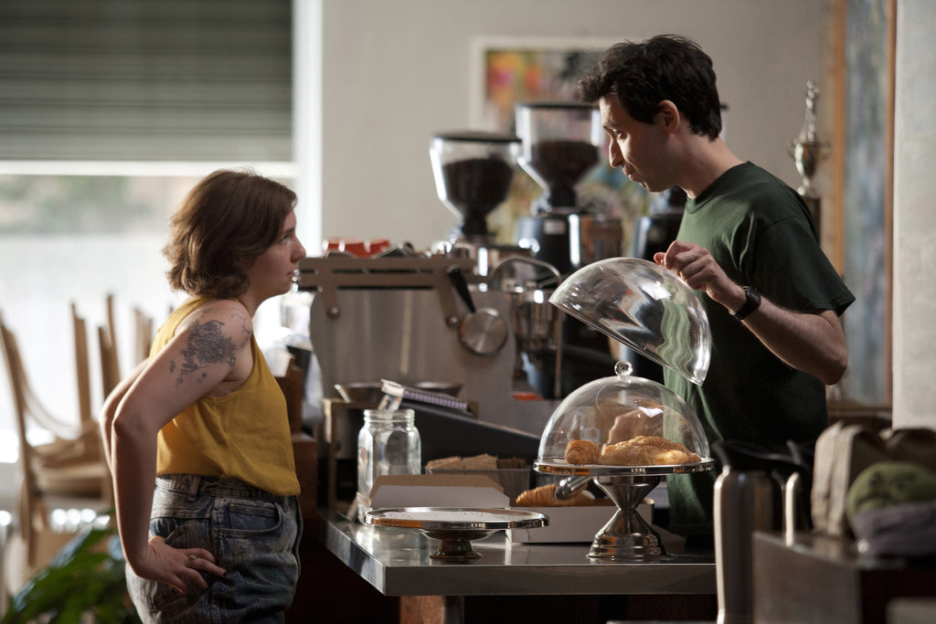 Lena Dunham and Alex Karpovsky in Girls.