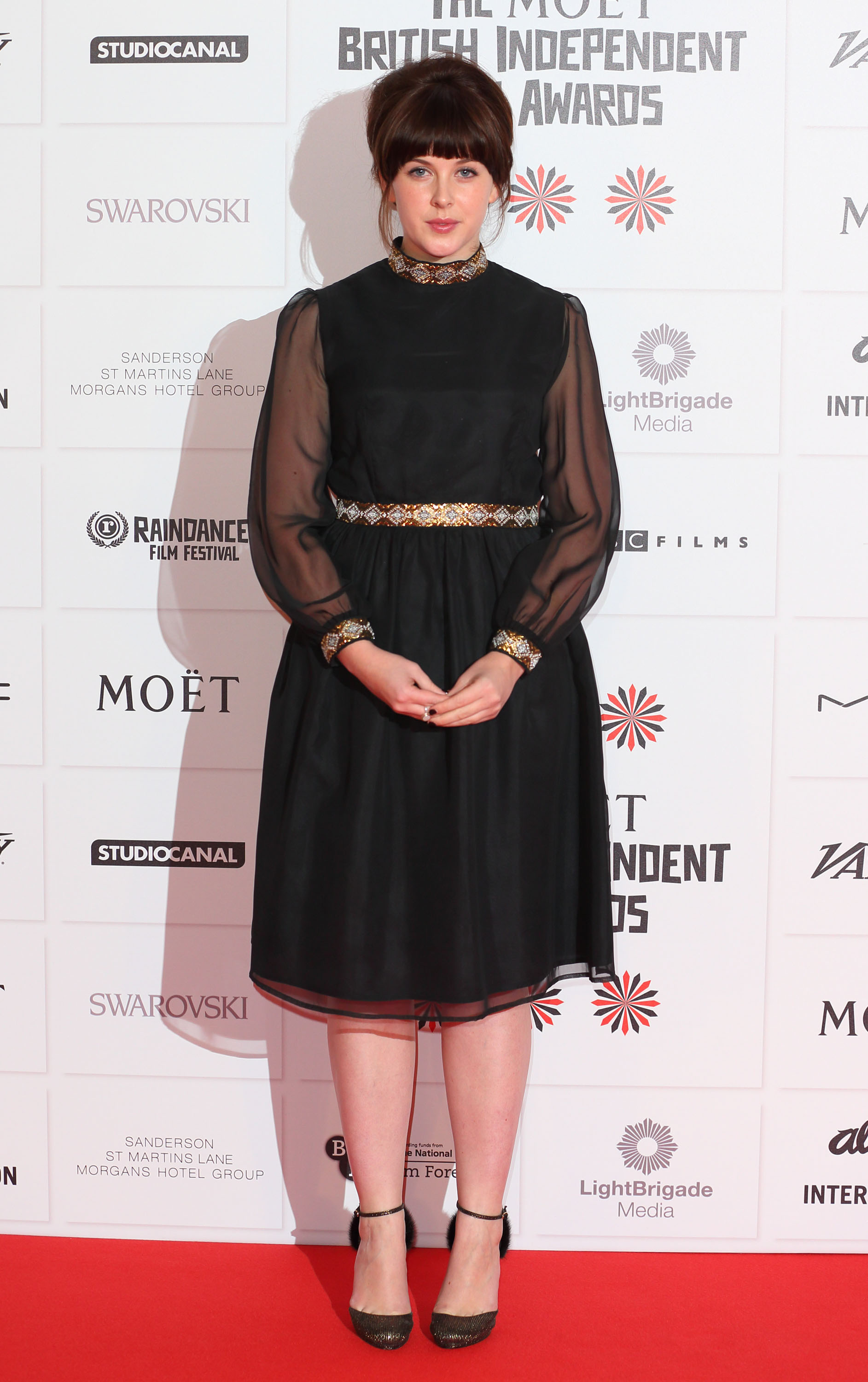 Alexandra Roach appeared at the BIFAs.