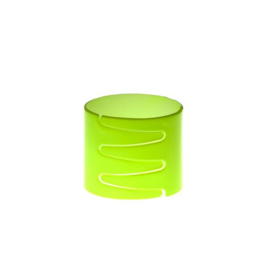 Lovisa Neon Yellow Laser Cut Hair Ring, $6.99