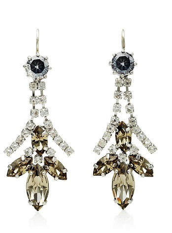Amp up your cocktail dress with these Juicy Couture Crystal Rhinestone Linear Earrings ($35, originally $68). The sparkle is eye-catching but subtle enough so as to not upstage the dress.