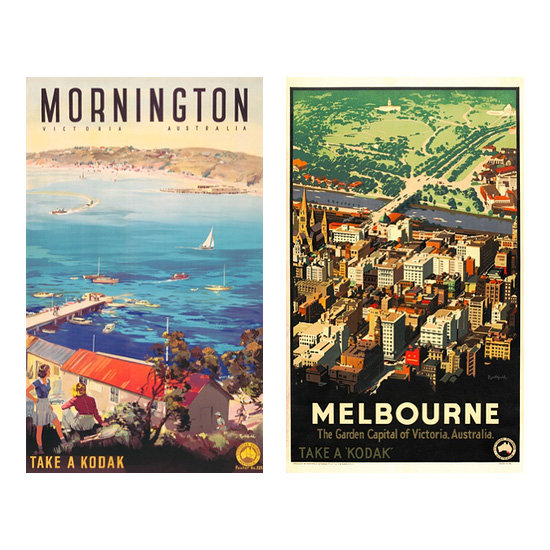 Australian Vintage Posters, from $168.50