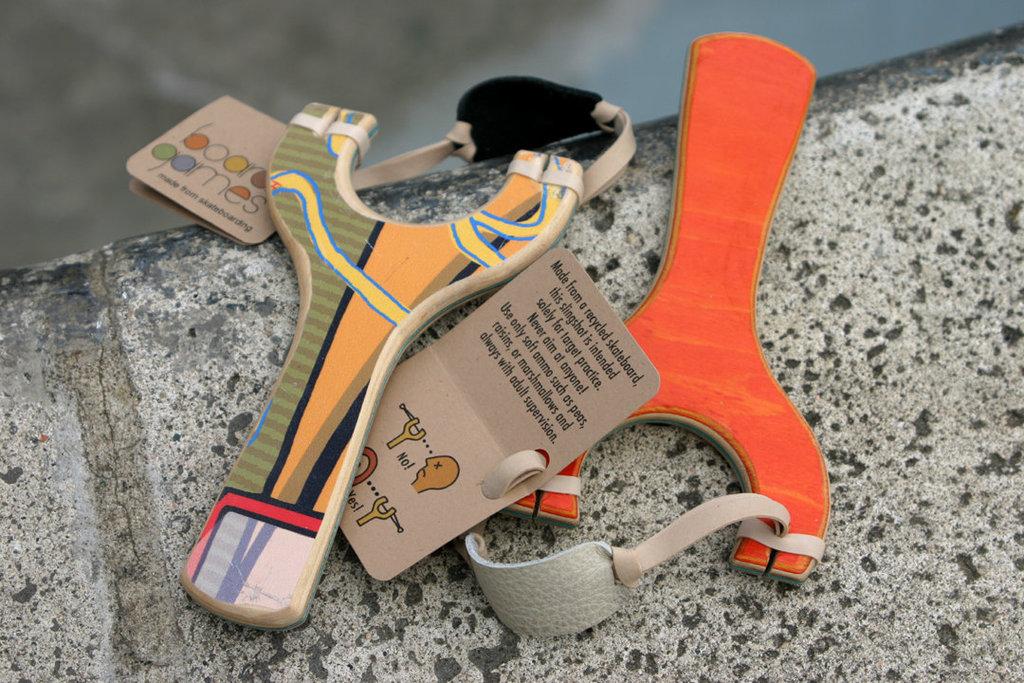 Boardgames Skateboard Slingshot ($24)