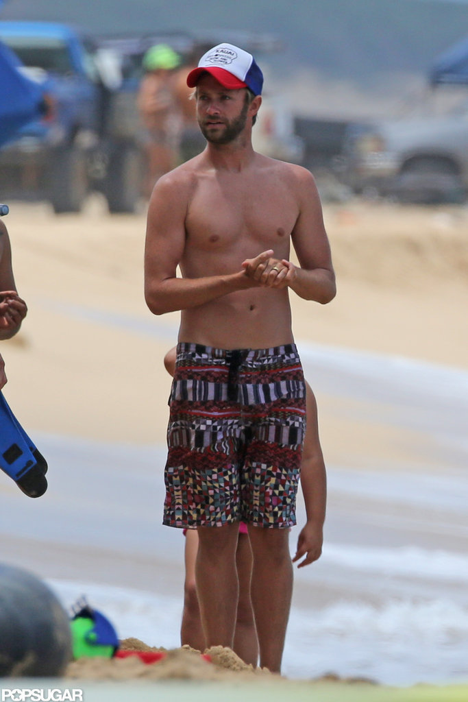 Paul McDonald spent the day sans shirt while vacationing in Hawaii back in September.