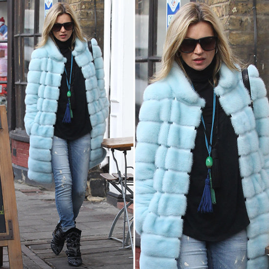 Steal Kate Moss's styling cues, and get inspired to style up a whimsical coat.