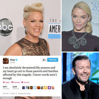 Celebrity Tweets: Jaime King, Pink, Ellen, Ricky Gervais