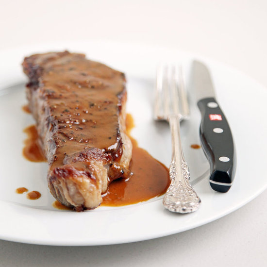 Steak With Miso Butter Sauce