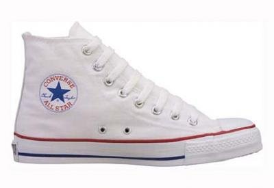 Amazon.com: Converse Chuck Taylor All Star Hi Top Optical White Canvas W7650: Shoes
