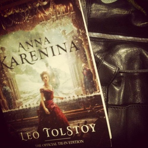 Danny Feekes's book club got real with Anna Karenina.