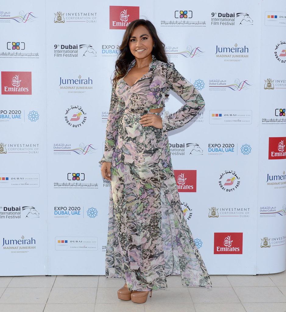 Jessica Mauboy Continues The Sapphires Fun in Dubai