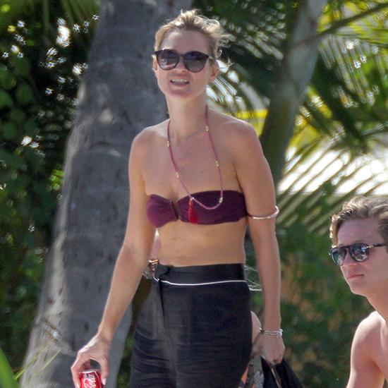 Kate Moss's Bikini Style in St. Barts (Video)