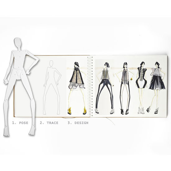 Illystrate fashion drawing model $49.95, and set of two sketch books $24.95, Illystrate, or at Ariel Book store, or call 0409 990 707 for stockists.