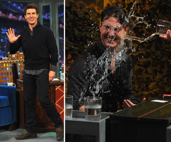 Tom Cruise Gets Soaked During Water War With Jimmy Fallon