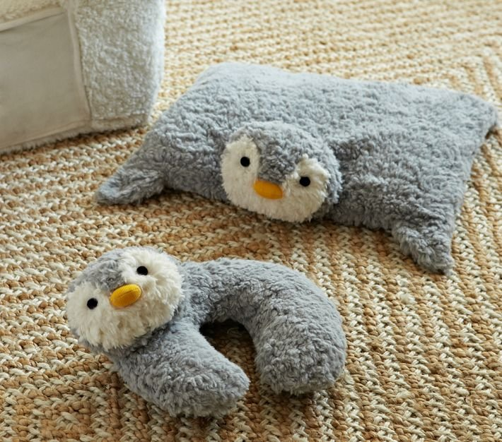 Pottery Barn Kids Plush and Neck Pillow