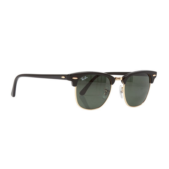 The style is Clubmaster and I'm a little addicted. — Laura, ShopStyle.com.au country manager Sunglasses, approx $145, Ray Ban at Singer 22