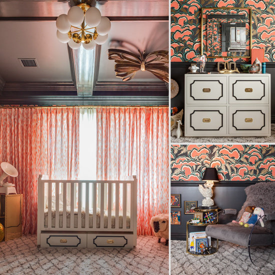 Nurseries: A New Vintage Nursery For a Sophisticated Little One