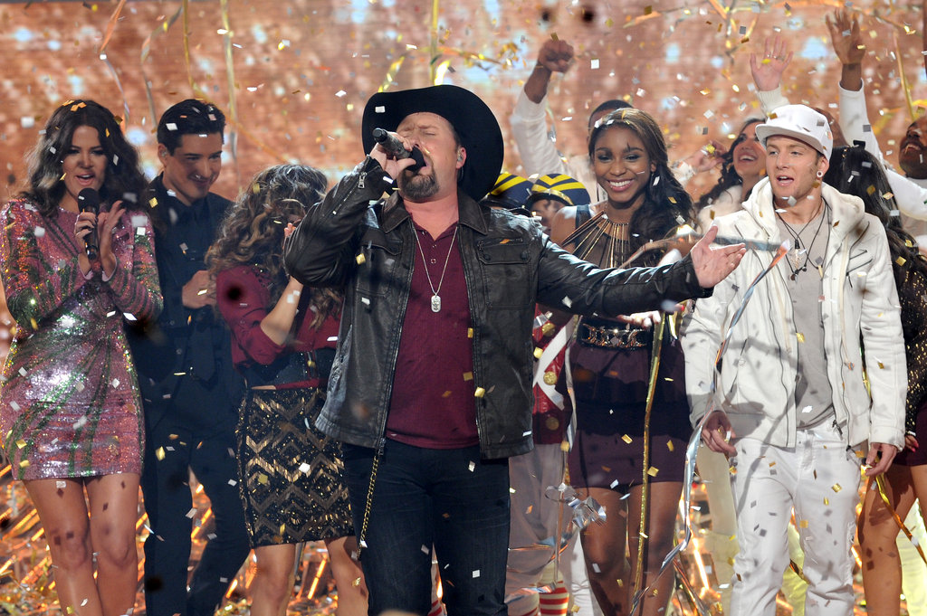Tate Stevens was named the winner of The X Factor season two.