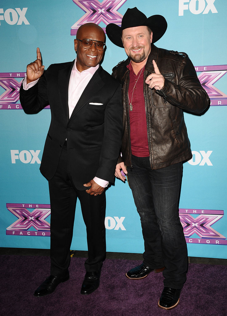 Britney Spears Supports Carly as Tate Stevens Wins The X Factor