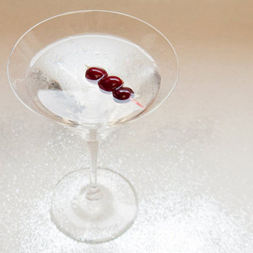 Vermouth-Infused Cranberry Martini