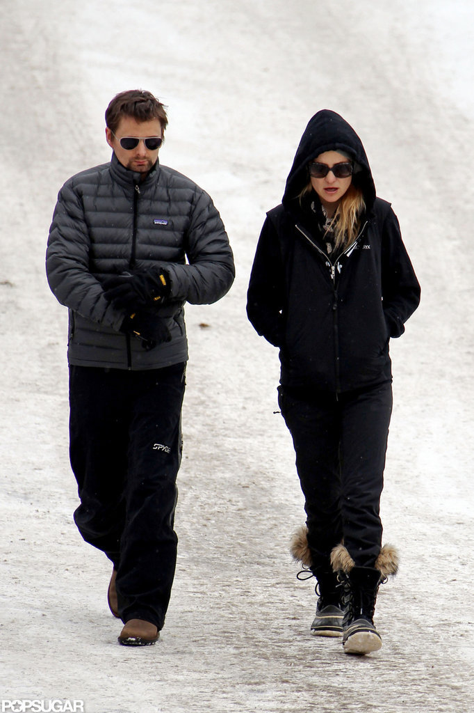 Kate Hudson and Matthew Bellamy shopped in Colorado.