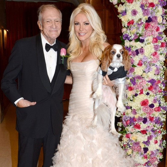 See Hugh Hefner and Crystal Harris' Wedding Pictures