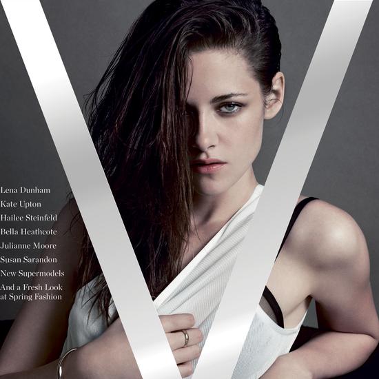 Kristen Stewart in V Magazine (Video)