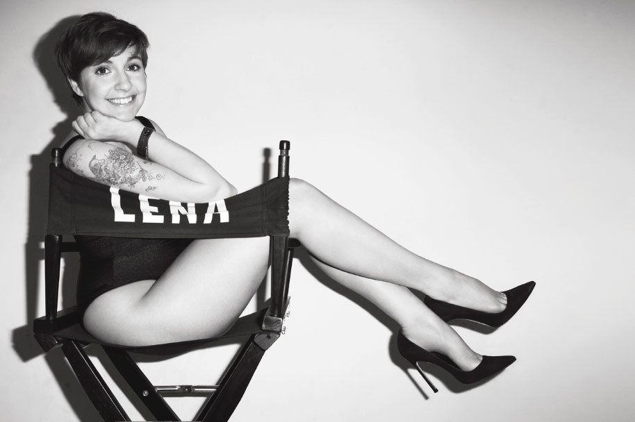 Cool Duo: Terry Richardson Shoots Lena Dunham for V