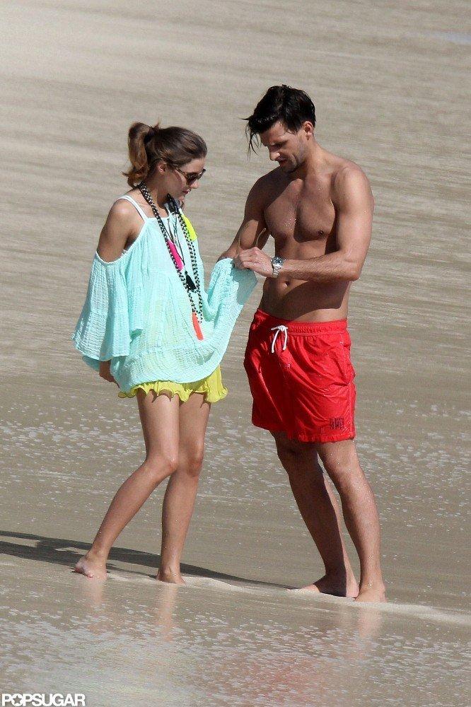 Olivia Keeps Her Bikini on During a Trip to a Nude Beach