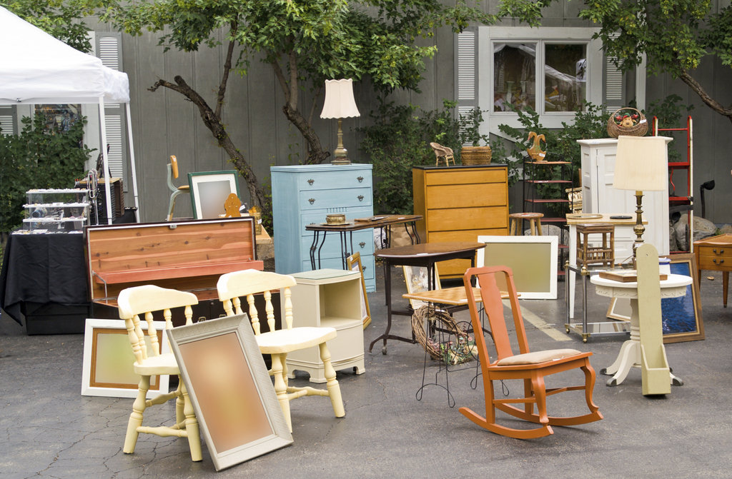 Host a Garage Sale For a Cause