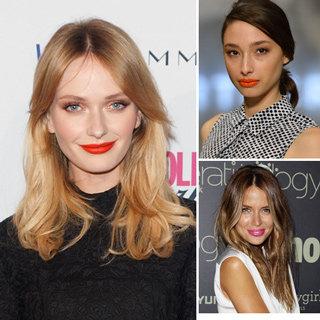 Bright Lipstick Colours Under $10: Jodi Gordon, Alex Agoston