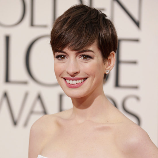 Anne Hathaway | Golden Globes Makeup 2013