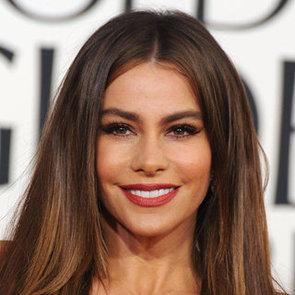 Sofia Vergara | Golden Globes Hair 2013