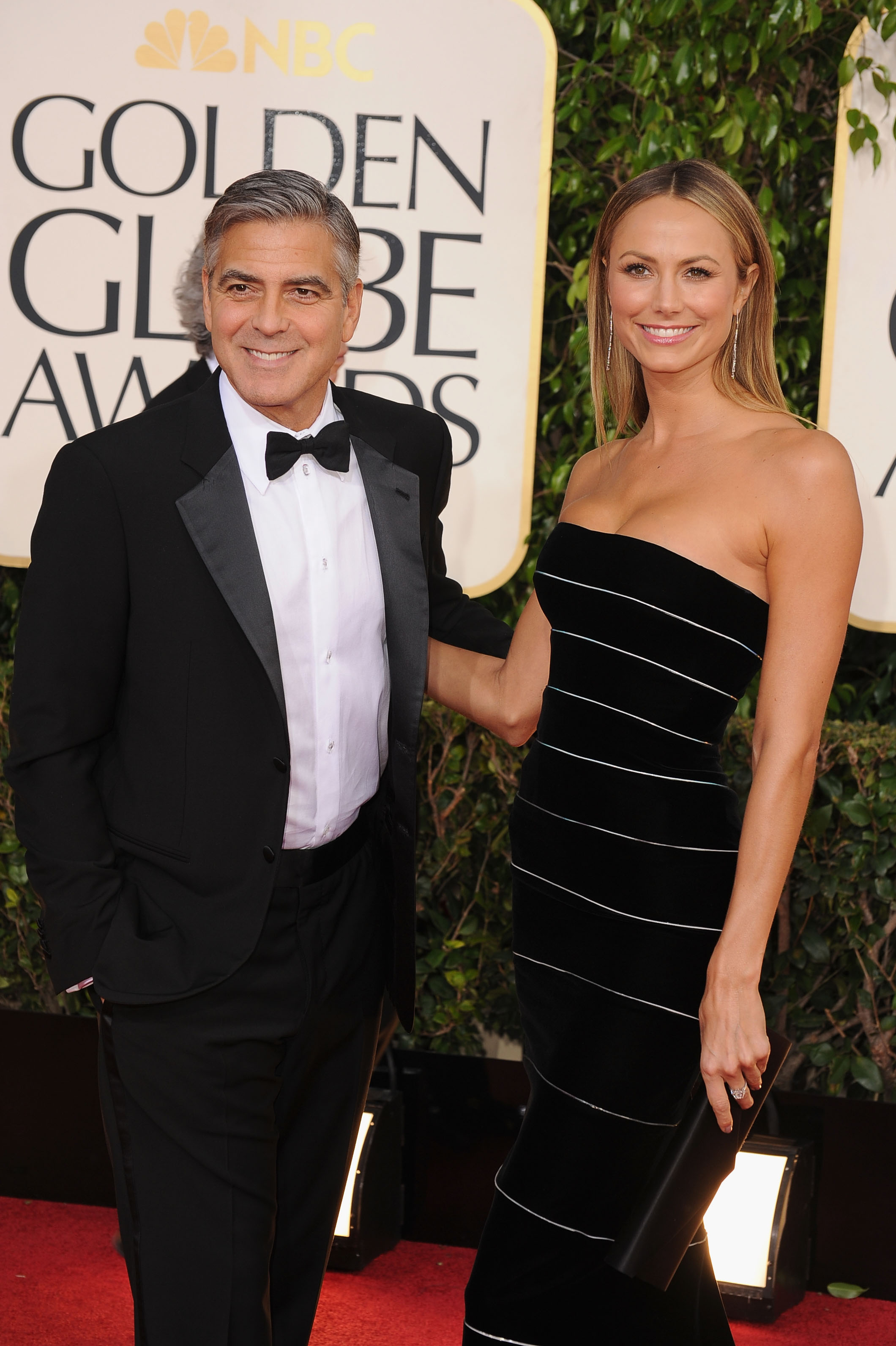 George Clooney had Stacy Keilber as his Golden Globes date.