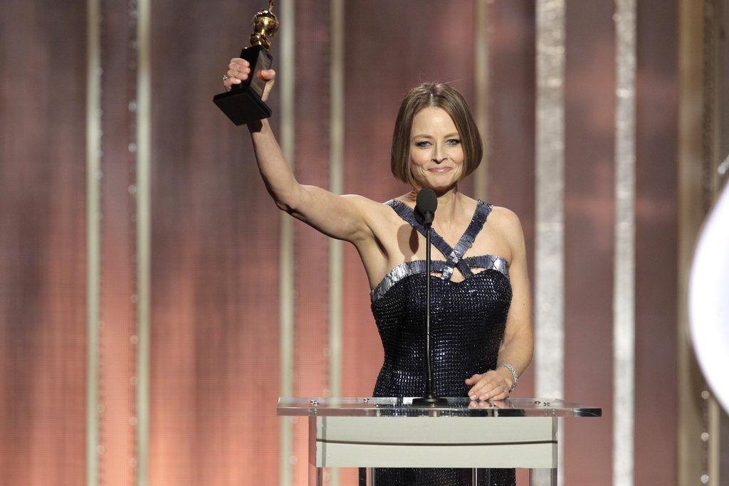 Jodie Foster came out as a lesbian for the first time on TV.