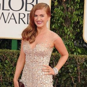 Isla Fisher Pictures in Reem Acra at 2013 Golden Globes