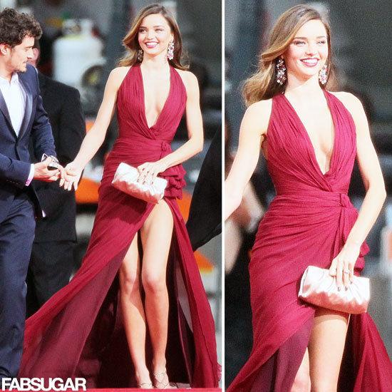 Miranda Kerr | Golden Globes Red Carpet Fashion 2013