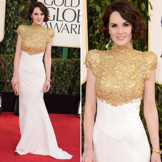 Michelle Dockery   Golden Globes Red Carpet Fashion 2013