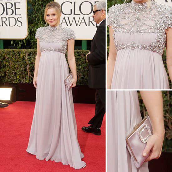 Kristen Bell | Golden Globes Red Carpet Fashion 2013