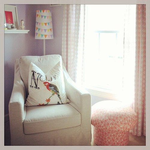 A Soothing Pastel Baby's Room