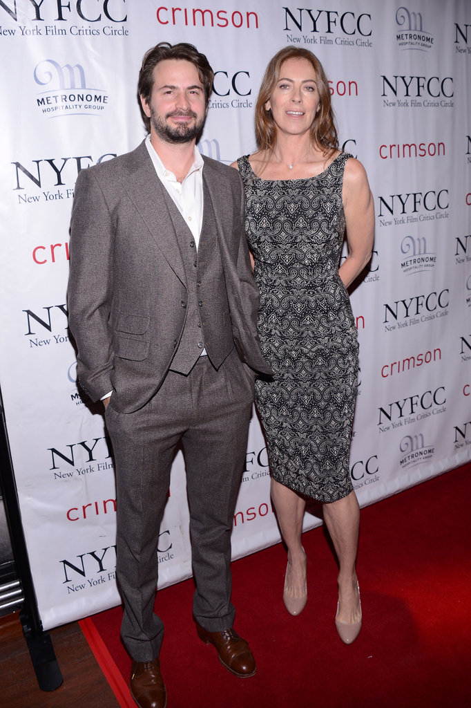 Kathryn Bigelow posed with Mark Boal.