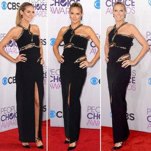 Pics of Heidi Klum in Julien McDonald People's Choice Awards