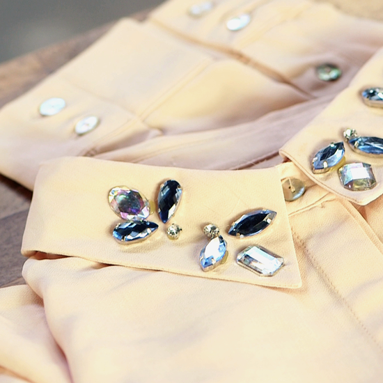 DIY: Watch Our How-To Video to Make your own jewelled collar