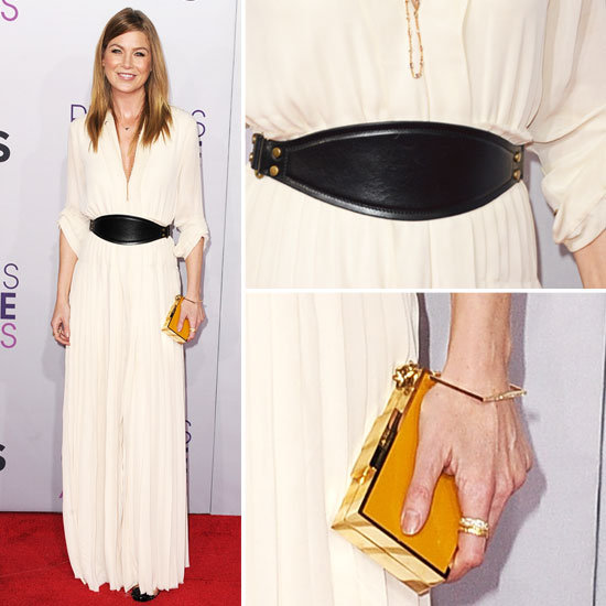Ellen Pompeo at People's Choice Awards 2013