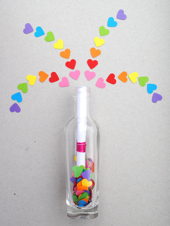 Invisible Ink Message in a Bottle