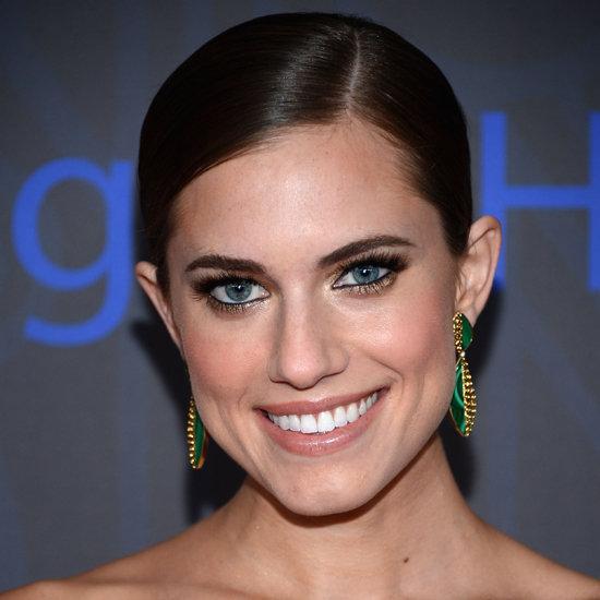 Allison Williams' Girls Premiere Makeup