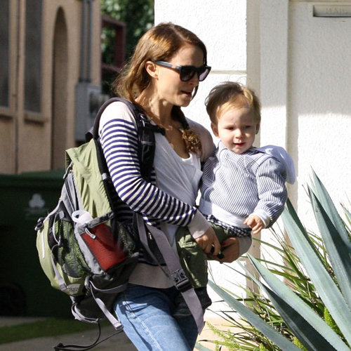 Natalie Portman With Son Aleph in Beverly Hills (Pictures)