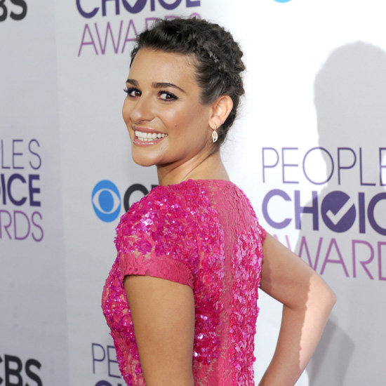 Lea Michele Pictures at 2013 People's Choice Awards