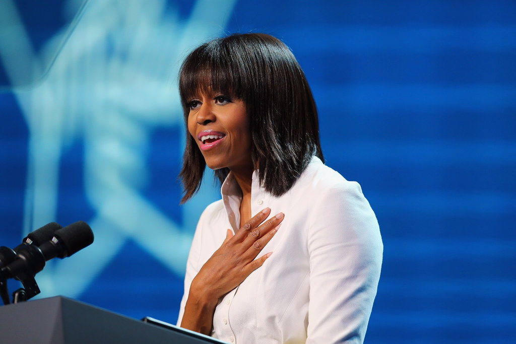 Michelle Obama spoke about how the Kids' Inaugural Concert is her favourite moment of the weekend.
