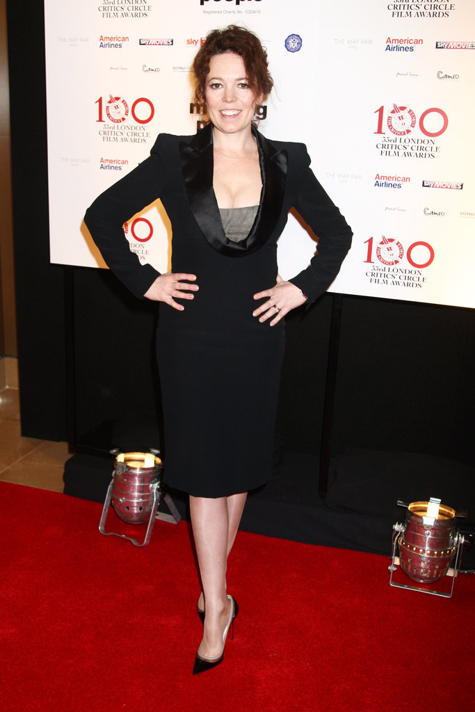 Olivia Colman attended the London Film Critics' Circle Awards.