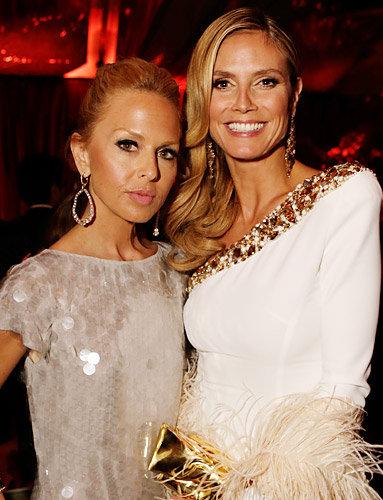 Rachel Zoe and Heidi Klum