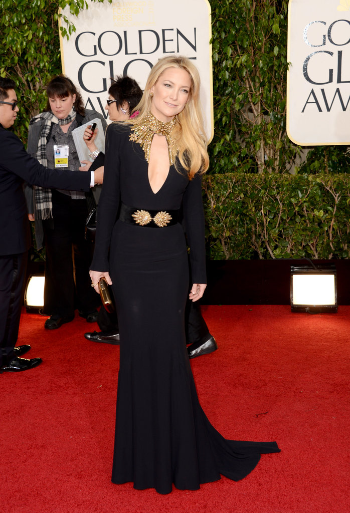 Kate Hudson narrowly missed a spot on our best dressed list; we loved her embellished Alexander McQueen gown.